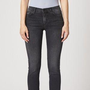 Hudson Nico Mid-Rise Straight Jean Rewrite Size 30
